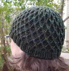diamondhat-green