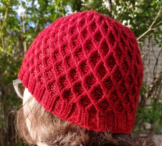 diamondhat-red