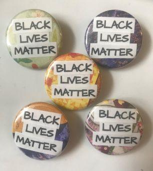 Black Lives Matter Pinback Buttons