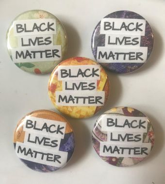 Black Lives Matter Pinback Buttons
