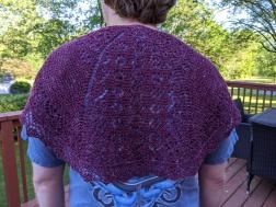 small lace shawl 2